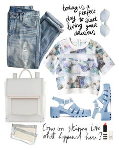 Trendy school outfit. by varshinibatchu on Polyvore featuring polyvore, мода, style, Rebecca Taylor, J.Crew, ALDO, Matthew Williamson, JuJu and Topshop