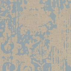 Majestic Wallpaper in Blue and Beige design by York Wallcoverings