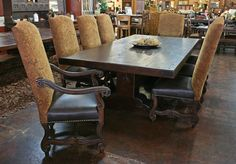 Rustic Dining Room Possessions Tempe | Custom Wood Furniture