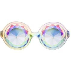 H0les Prism Eyewear H0les_og_rainbow Classic Rainbow Iridescent By ($80) ❤ liked on Polyvore featuring accessories, eyewear, sunglasses, glasses, blue, rainbow glasses, rainbow sunglasses, iridescent glasses, blue glasses and blue sunglasses