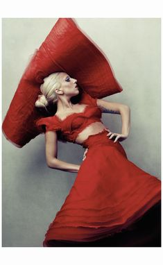 Lady Gaga 2011 - Photo Annie Leibovitz