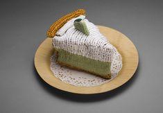 Yarnfood inspiration from Ed Bing Lee! I love love love this 'key lime pie' art work!  - http://www.edbinglee.com/delectable.html