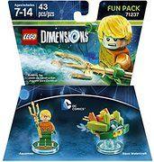 DC Aquaman Fun Pack - LEGO Dimensions - $8.49! - http://www.pinchingyourpennies.com/202768-2/ #Amazon, #Legodimensions