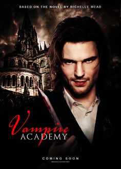 Vampire Academy: Blood Sisters fan art, featuring Danila Kozlovsky as Dimitri Belikov