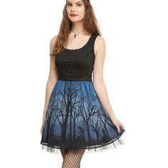 Disney Alice In Wonderland Silhouette Corset Dress Hot Topic (91 CAD) ❤ liked on Polyvore featuring dresses