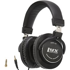 Amazon.com: LyxPro HAS-10 Closed Back Over-Ear Professional Studio Monitor & Mixing Headphones, Newest 45mm Neodymium Drivers for Wide Dynamic Range - Lightweight: Electronics
