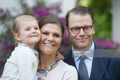 Crown Princess Victoria of Sweden, and Prince Daniel of Sweden,with Princess Estelle of Sweden, attend the Celebration for The Crown Princess Victoria of Sweden's 38th Birthday at Solliden Palace, on July 14th, 2015 in Borgholm, Sweden.