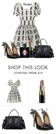 """""""Rosegal  66"""" by nejra-l ❤ liked on Polyvore featuring Bobbi Brown Cosmetics, Yves Saint Laurent, Summer, dress, promotion and rosegal"""