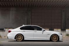 BMW 550i on CSS-8 Custom Finish