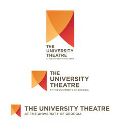 University Theatre logo by Cassandra Olson, via Behance