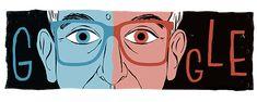 Google Doodles - 80e geboortedag van Krzysztof Kieślowski Krzysztof Kieslowski, Best Director, Google Doodles, Film School, French Revolution, Tv Episodes, 80th Birthday, Triptych, Screenwriting