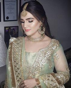 dolls shirt for women, traci lynn jewelry net, chunky gold - Bridal Wear - Pakistani Bridal Makeup, Bridal Mehndi Dresses, Pakistani Wedding Outfits, Pakistani Wedding Dresses, Pakistani Dress Design, Bridal Outfits, Bridal Lehenga, Indian Bridal, Girly