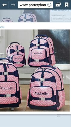 Kids  Backpacks, Personalized Backpacks  amp  Book Bags   Pottery Barn Kids  Moroccan Geo bcb0eac888