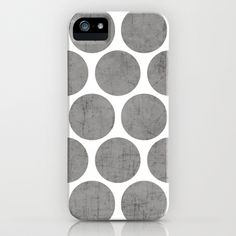 gray+polka+dots+iPhone+&+iPod+Case+by+Her+Art+-+$35.00
