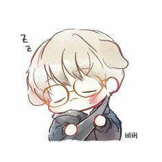 Baekhyun <credits to owner> Kpop Fanart, Baekhyun Fanart, Chanbaek Fanart, Baekyeol, Chibi Exo, Exo Cartoon, Exo Stickers, Exo Anime, Exo Fan Art