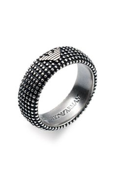cool ring..  the Armani insignia
