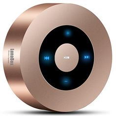 nice Portable Bluetooth Speaker, LunaBox Soundbot Touch Screen Bluetooth Speaker, Powerful Sound with 10-Hour Battery Life, 33-Foot Bluetooth Range, Built-in Microphone, Works with iPhone, iPad, Samsung, Nexus, HTC, Nokia, Laptops, PC and More , Travel Light Size(Champagne) Check more at...