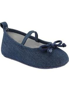 Denim Ballet Flats for Baby | Old Navy