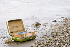 What a book lover would want to find on a desert island.  What books should be in that suitcase?