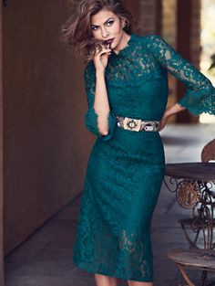 Shop Eva Mendes Collection - Alexandra Lace Sheath Dress . Find your perfect size online at the best price at New York & Company.
