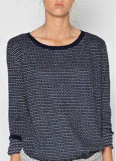 Myrah knit navy/albicant - Aiayu