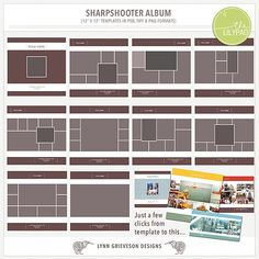 Sharpshooter Album  by Lynn Grieveson.  Available at The Lily Pad.
