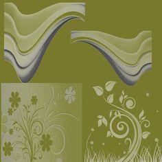 Scrapbooking TammyTags -- TT - Designer - Miriam's Scrap,  TT - Item - Page Overlay, TT - Thing - Flower