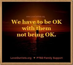 We all have good days and bad days. That is OKAY! www.LoveOurVets.org