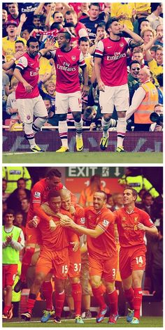 Red Hot! #Arsenal and #Liverpool enjoy derby wins thanks to in-form strikers Olivier Giroud and Daniel Sturridge! #BPL