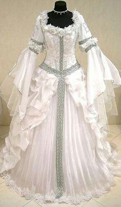 Victorian gown