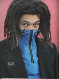 Hunter Original Cagoule and Jacket worn by rising star Cosmo Pyke in Something About main fashion story – How High The Moon