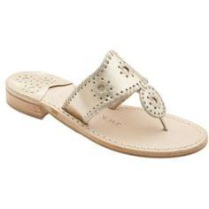 Thong Sandal Platinum 7 M