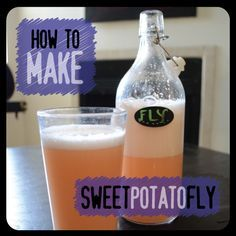Sweet Potato Fly - 1 grated sweet potato, 1C sugar, ginger bug or whey, spices (optional), filtered water to make 8 C.  Ferment for 3 days.