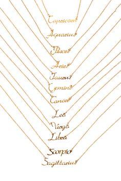 Zodiac Necklaces | Rebecca Minkoff