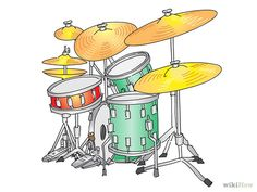 This is a really thorough graphic explanation on getting started on the drums. How to Play Drums (with Pictures) - wikiHow