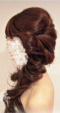 106 Best Wedding Bride Hair Side Bun Ponytail Images Wedding