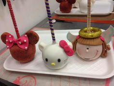 Hello Kitty Candy Apples