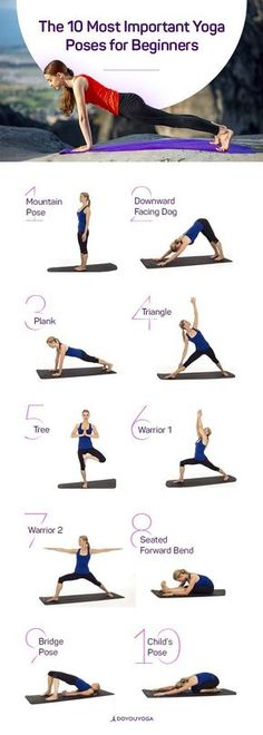 Great poses to get started with. #exercise #fitness #yoga #courageouspaths.com