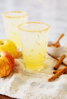 Apple Cinnamon Margaritas via A House in the Hills