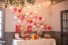 Garden tea party bridal shower party! See more party planning ideas at CatchMyParty.com!
