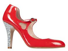 STARLET RED-SILVER | MINNA PARIKKA Online Shop - May these shoes lead you to new adventures