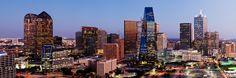 Downtown Dallas Skyline Dallas Texas