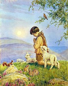 Young Girl With Primroses Fairy Secrets The Boat To Fairyland Alice Chasing The White Rabbit Morning Carol He Prayeth Best Peter's Friends The Pied Piper Of Hamelin Harvest Home title unknown…