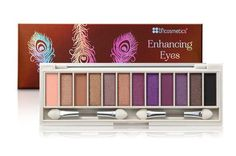 BH Cosmetics Enhancing Eyes Palette - Beautiful Brown Eyes