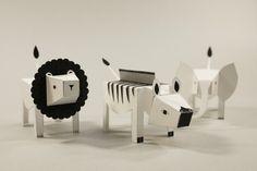 Advanced Paper toys - Fideli Sundqvist
