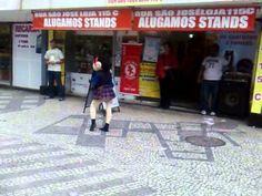 magaly dançando no largo da carioca  velemem