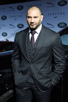 Pin for Later: Nathan Fillion Is in Guardians of the Galaxy Rounding Out the Perfect Cast Dave Bautista Spectre villain Bautista returns as Drax. Dave Bautista, Hot Guys Eye Candy, Catch, Wrestling Superstars, Wrestling Wwe, Hottest Male Celebrities, Celebs, Marvel Actors, Celebrity Babies