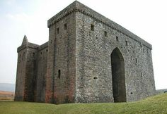 Hermitage Castle, Newcastleton, Hawick, Roxburghshire, Scotland..... Being so close to the border with England, Hermitage Castle played a key role in the Wars of Independence that started in 1296. It changed hands a number of times over the following decades.