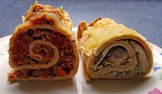 Deftig gefüllte Pfannkuchen - in 3 Variationen (Rezept mit Bild) | Chefkoch.de