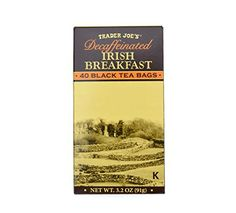 Trader Joes Decaffeinated Irish Breakfast Tea ** Find out more about the great product at the image link.
